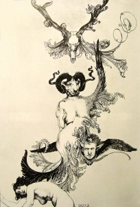 """Ascension of the ego from ecstasy to ecstasy"" Austin Osman Spare"